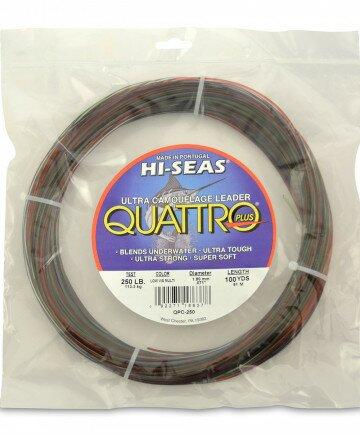 Quattro Leader - 4-Color - 100yd - 250lb - 1.80mm
